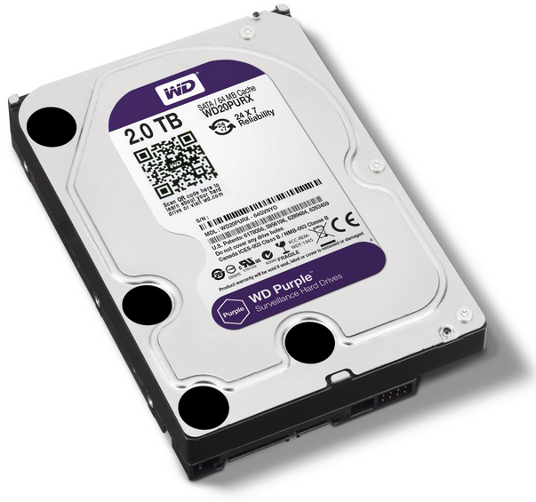 Western Digital Purple 2TB WD20PURX