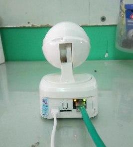 Đèn mạng camera wifi ebitcam e2