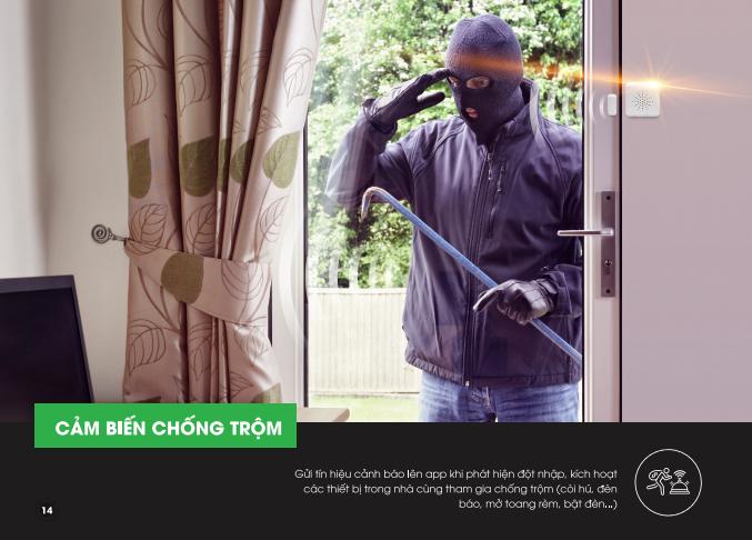 Thiết bị cảm biến kết hợp cùng camera giám sát bảo vệ ngôi nhà bạn an toàn